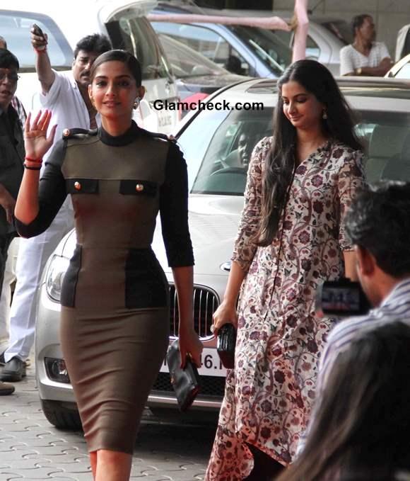 Sonam Kapoor with sister Rhea Kapoor