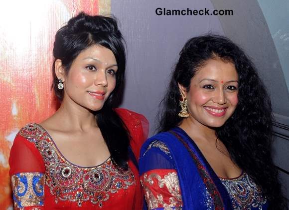 Sonu Kakkar and Neha Kakkar At My Friend Hussain Audio Release at Andhericha Raja in Mumbai
