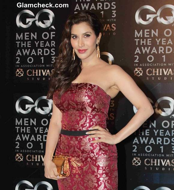 Sophie Choudhry at GQ men of the Year Awards 2013