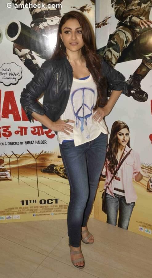 Star Cast of War Chhod Na Yaar movie 2013 Soha Ali Khan