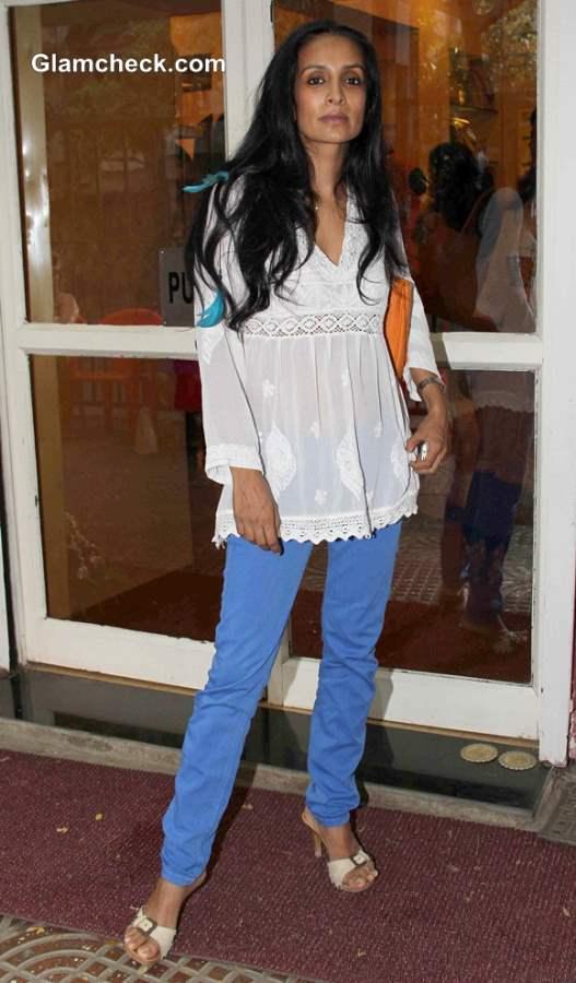 Suchitra Pillai at Spyra Suvi Arya Festive Collection 2013 Preview