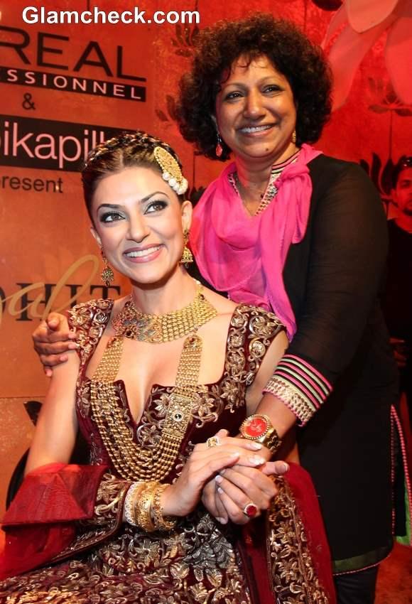 Sushmita Sen 2013 at Ambika Pillai Salon Opening