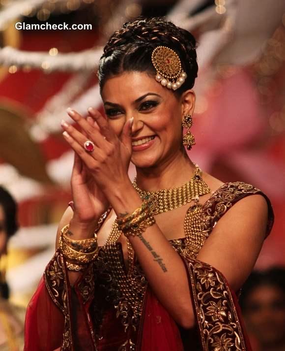 Sushmita Sen at 2013 Ambika Pillai Salon Opening