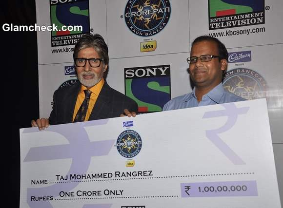 Taj Mohammed Ragrez is the first Crorepati on Season 7 of KBC