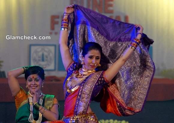 Urmila Matondkar during the Pune festival 2013 in Pune