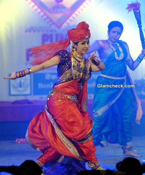 Urmila Matondkar performs at the Pune festival 2013 in Pune