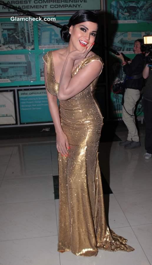 Veena Malik at Premiere of her movie Real Life of Super Model