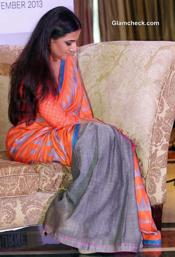 Vidya Balan in Sari 2013 Indian Film Festival of Melbourne