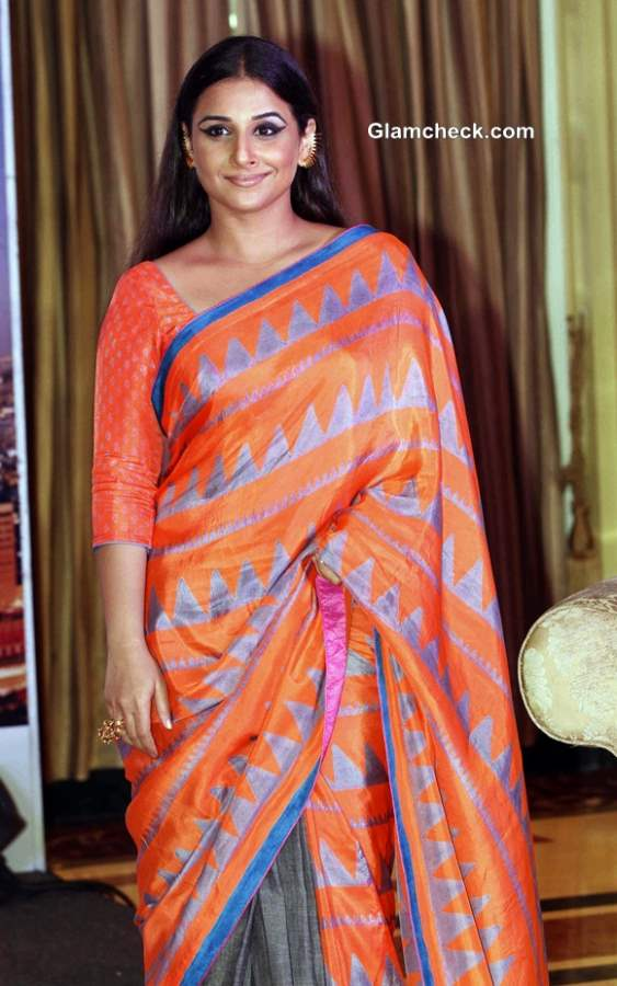Vidya Balan in Sari at 2013 Indian Film Festival of Melbourne
