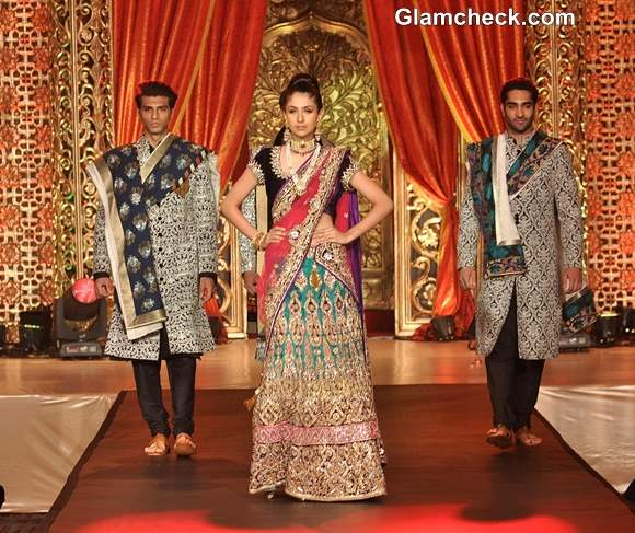 Vikram Phadnis Bridal Couture collection 2013