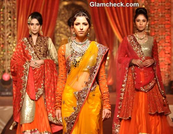 Vikram Phadnis at Bridal Couture Show 2013