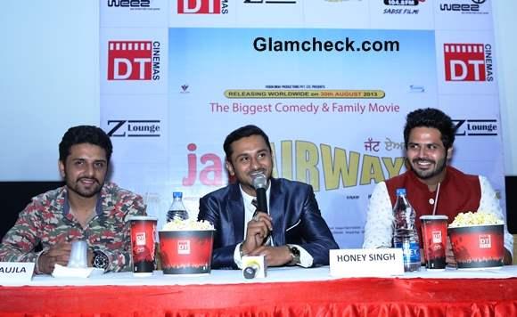 Yo Yo Honey Singh at Jatt Airways movie Press Meet