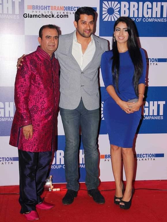 Yogesh Lakhani actor Aftab Shivdasani and his girlfriend Nin Dusanj