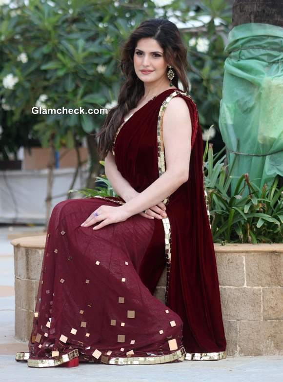 Zarine Khan Announces Association With India Wedding