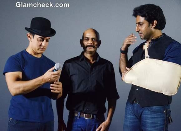 Aamir Khan Abhishek Bachchan Launch Dhoom 3 Trailer