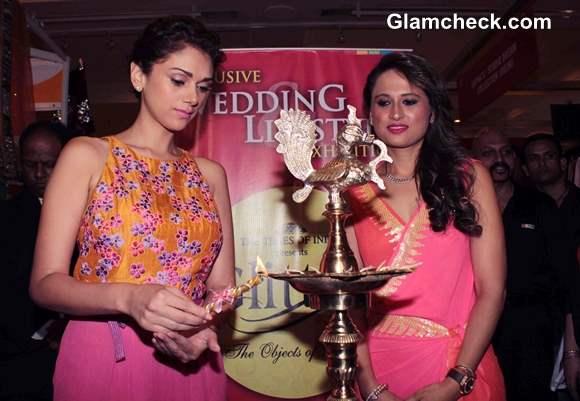 Aditi Rao Hydari Inaugurates Jewellery Fashion Exhibition Glitter 2013