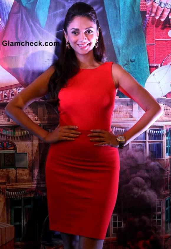 Aditi Rao Hydari in Red Dress Pictures
