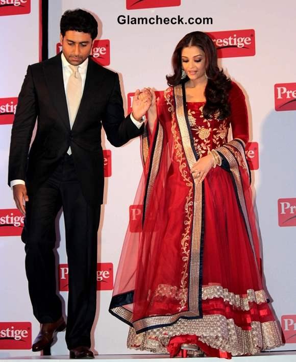 Aishwarya Rai and Abhishek Bachchan 2013