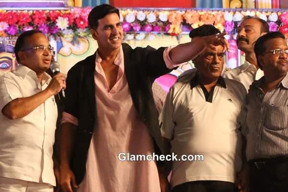 Akshay Kumar at Dussehra Celebrations  in New Delhi