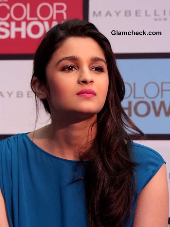 Alia Bhatt 2013 makeup hairstyle