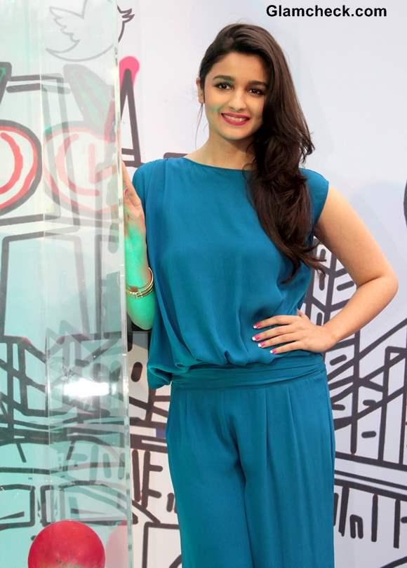 Alia Bhatt at Maybelline Color Show