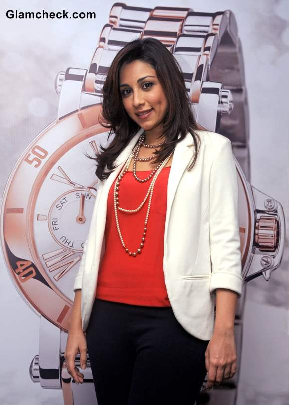 Amrita Puri outfit at Guess and Gc Watches Event