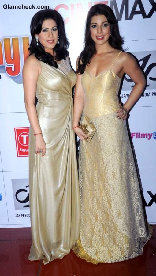 Amrita Raichand and Anisa Butt at Baat Bann Gayi Premiere in Mumbai