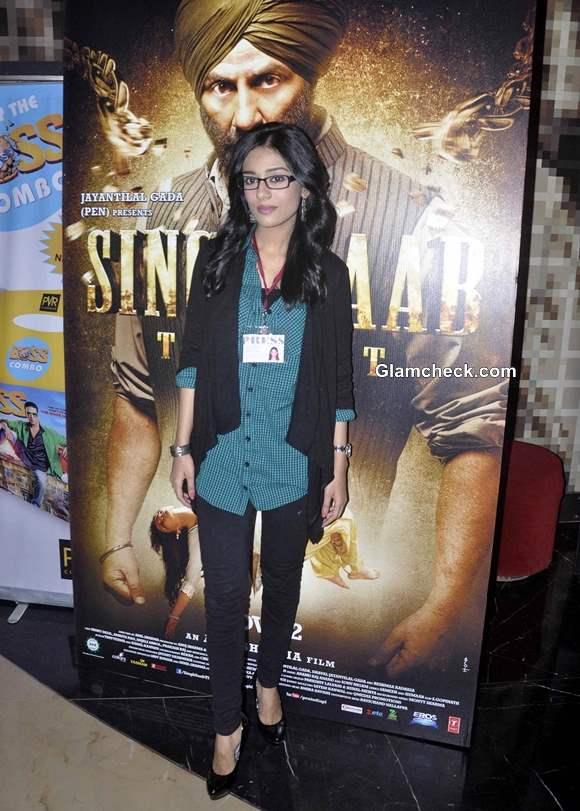 Amrita Rao at Singh Saab The Great Music and Trailer Launch in Mumbai