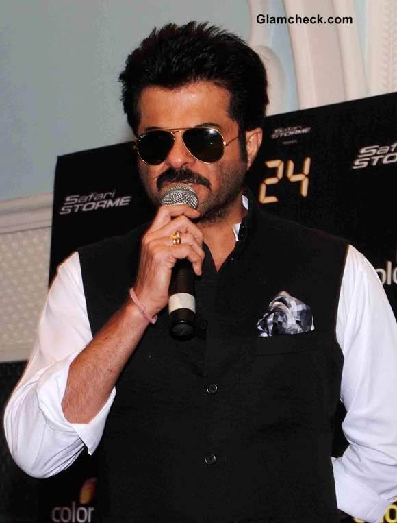 Anil Kapoor Continues 24 Promo in Lucknow