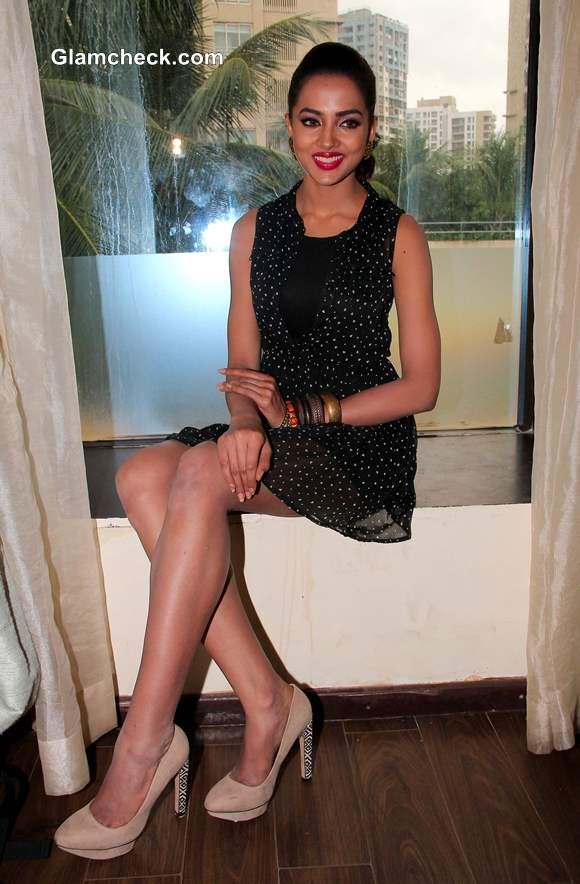 Aradhna promotes movie satya 2