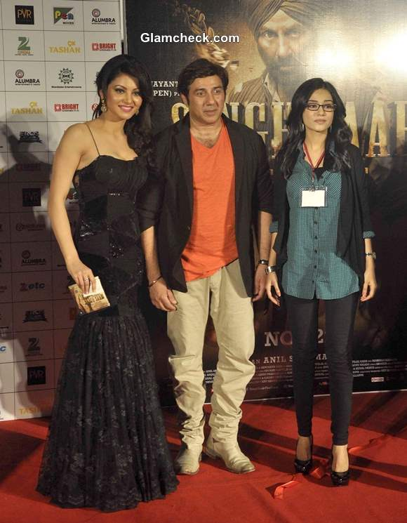 Cast of Singh Saab The Great Launch Music and Trailer in Mumbai