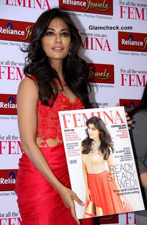 Chitrangada Singh at Femina Bridal Cover Unveiling