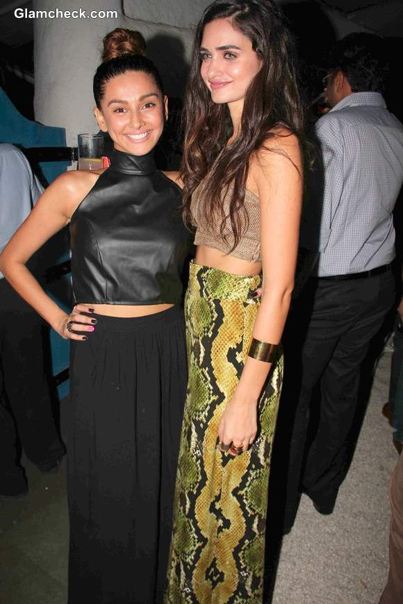 Cropped tops trend at Launch of tgitPOP in Mumbai