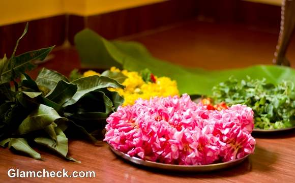 Dhanteras Shopping Puja Flowers