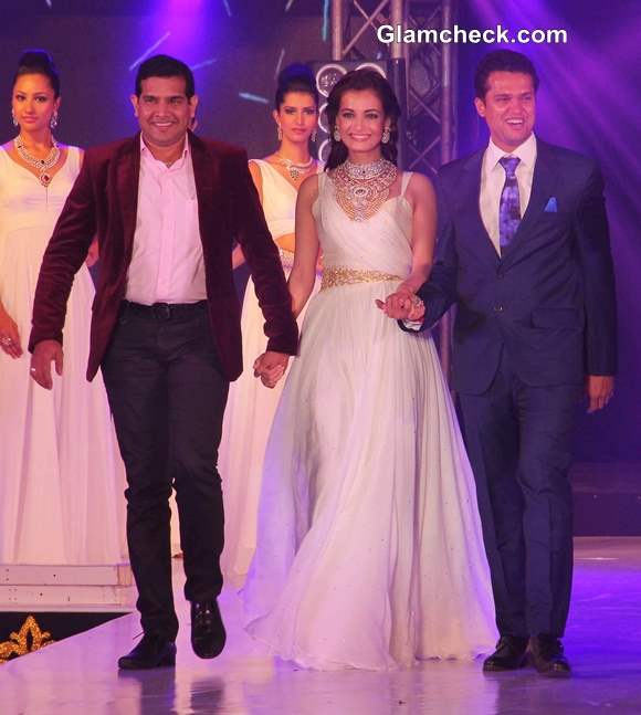 Dia Mirza at the 1st Bullion and Jewellery Awards