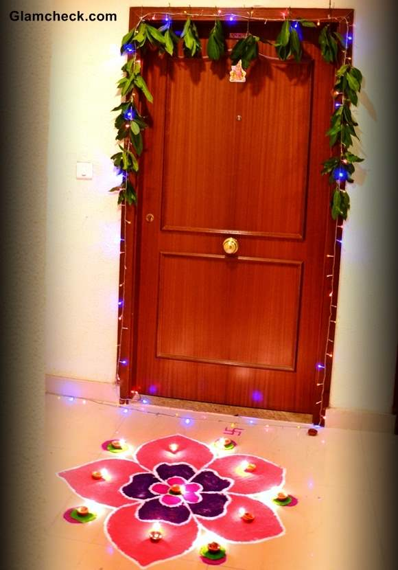 Diwali Decoration Ideas Home Entrance
