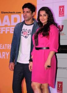 Farhan Akhtar and Vidya Balan in Shaadi Ke Side Effects movie 2014