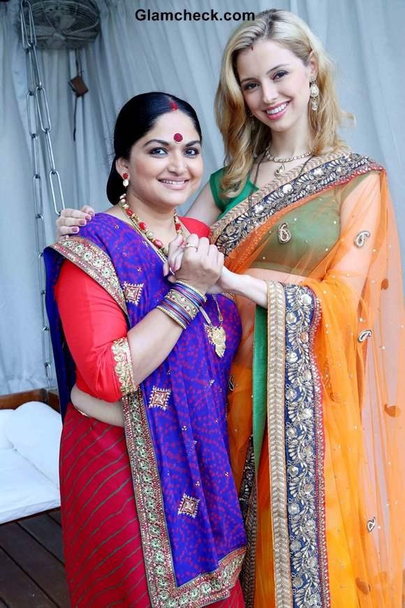 Firangi Bahu Serial - Sippora Zoutewelle and Indira Krishna