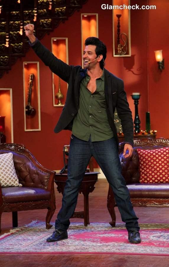 Hrithik Roshan Promotes Krissh 3 at Comedy Nights with Kapil Diwali Episode
