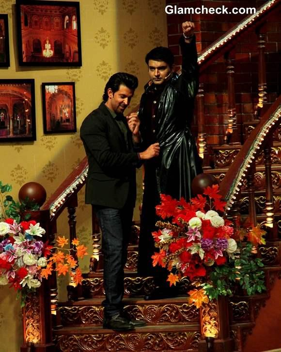 Hrithik Roshan at Comedy Nights with Kapil Diwali Episode 2013