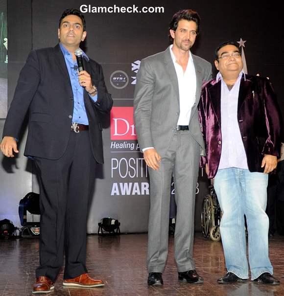 Hrithik Roshan at Positive Health Awards 2013 in Mumbai