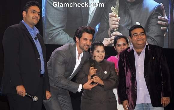 Hrithik Roshan at Positive Health Awards 2013