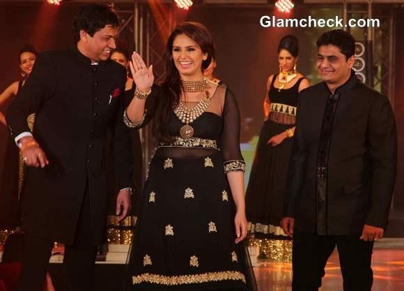 Huma Qureshi 2013 IBBS Fashion Show