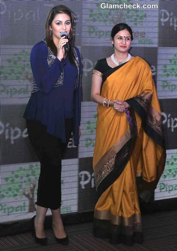 Huma Qureshi Launches Kolkattas New Pipal Tree Hotel