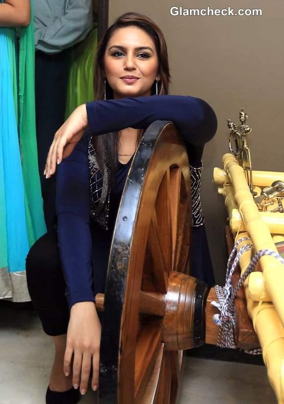 Huma Qureshi at Kolkattas New Pipal Tree Hotel Launch