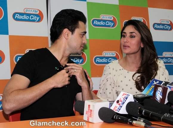 Imran Khan and Kareena Kapoor Promote movie Gori Tere Pyaar Mein