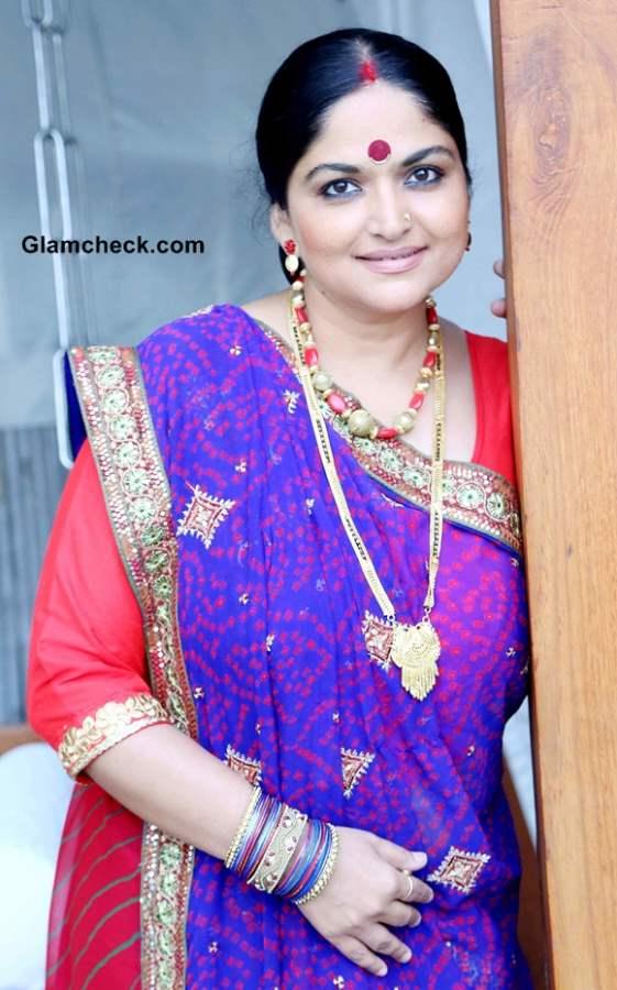Indira Krishna in Firangi Bahu Serial Sahara One