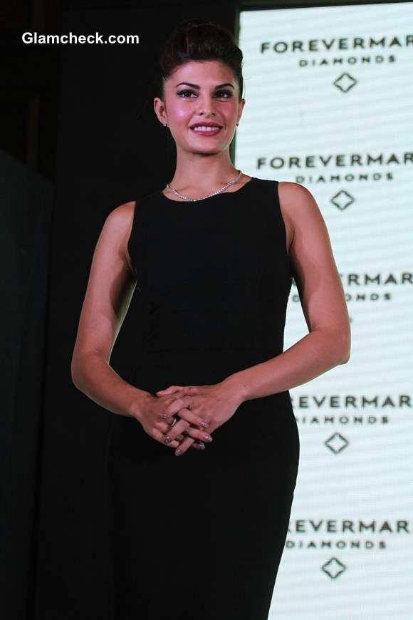Jacqueline Fernandez Pulls An Audrey Hepburn at Forevermark Event