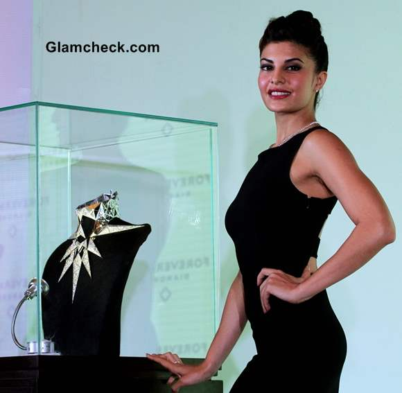 Jacqueline Fernandez at Forevermark Jewelry event