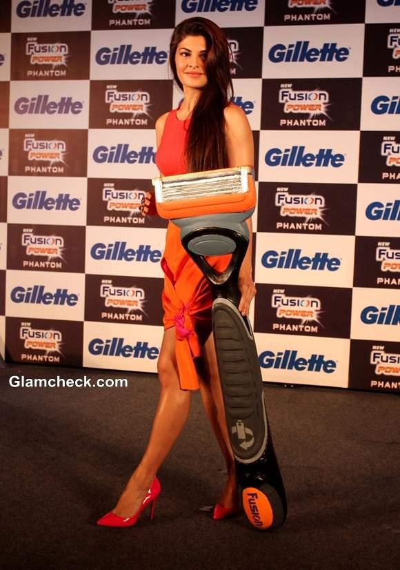 Jacqueline Fernandez at Unveiling of Gillette New Shaving System